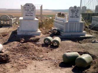 Mehdi Eker'in aile mezarlığında 640 kilo patlayıcı bulundu