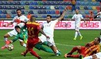 Galatasaray Kayseri'den bir puan ile dönüyor