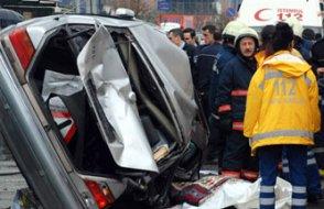 Bayramda kaza bilançosu: 67 ölü, 341 yaralı