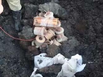 Terör örgütü PKK'ya ait 41 adet mayın bulundu