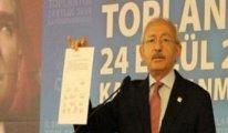 Kılıçdaroğlu 2004 MGK belgesini gösterdi