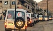 Suriye'de 4 bölgeye 6 ay sonra ilk insani yardım