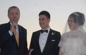 Nikah şahidi Erdoğan'dı