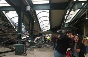 New Jersey'de tren kazası