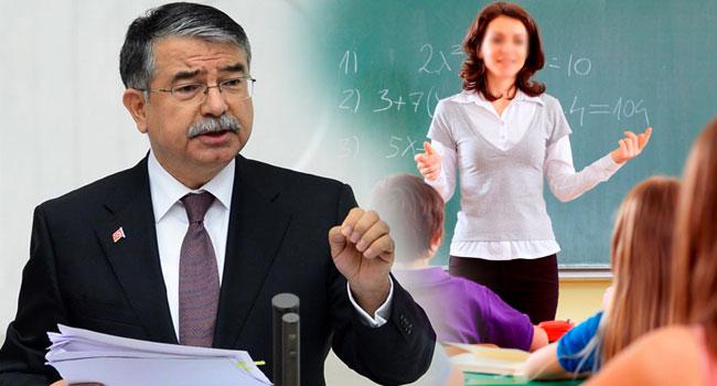 Milli Eğitim Bakanı Yılmaz özet geçti