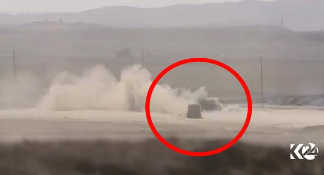 Canlı bomba ve aracı böyle vuruldu