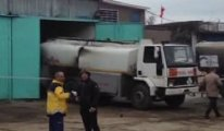 İstanbul akaryakıt tankerinde patlama