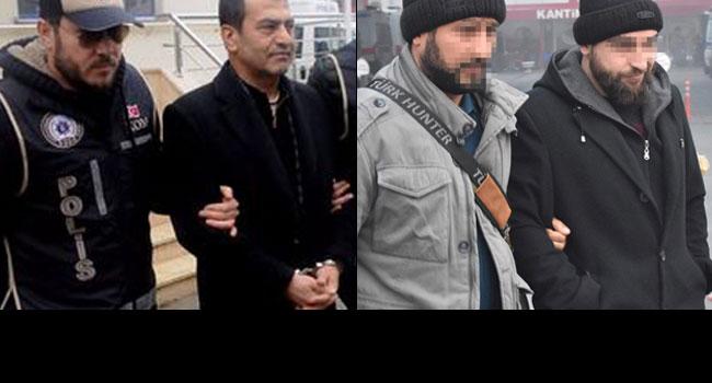 Soldaki gazeteci sağdaki IŞİD şüphelisi