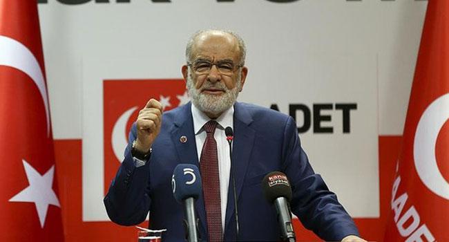 Saadet Partisi referandumdaki oyunun rengini açıkladı