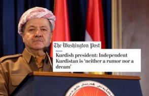 Barzani: 'Bağımsız Kürdistan için her şeyi yapacağız'