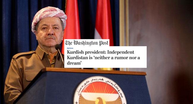 İşte Mesud Barzani'nin Washington Post'a verdiği mülakat...