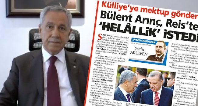 Yandaş yazar, Bülent Arınç'a nasıl diz çöktürüldüğünü yazdı...