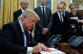 Trump kritik karara imza atıı