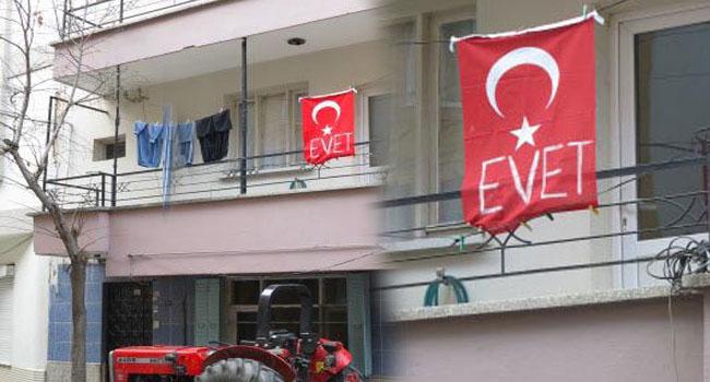 Türk Bayrağına ağır hakaret