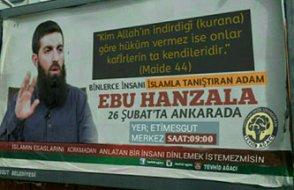 IŞİD'in Türkiye sorumlusu 'Ebu Hanzala' Ankara'da konferans verecek!