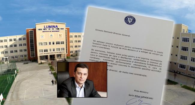 Romanya'daki 'Hizmet Okulları'na Başbakan teşekkürü!