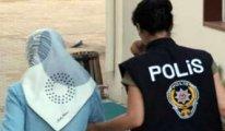 Eşini ziyarete gittiği cezaevinde 40 günlük bebeğiyle gözaltına alındı