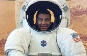 Eski NASA çalışanı Gölge, Amerika'da