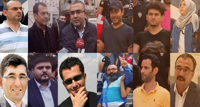 En fazla tutuklu gazeteci Türkiye'de