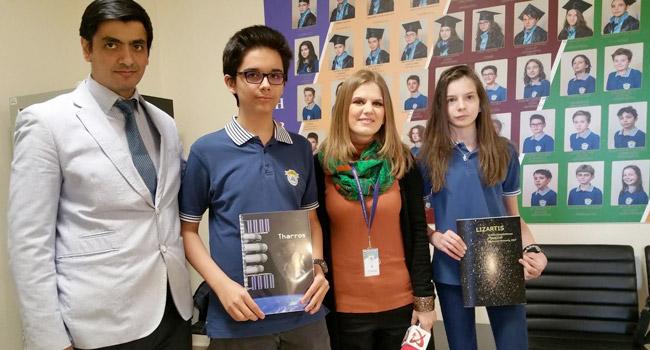 Hizmet'in Romanya'daki okulundan parmak ısırtan NASA başarısı
