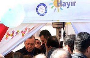 Erdoğan 'hayır' çadırını niye ziyaret etti?