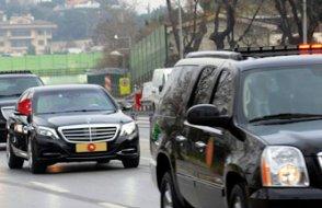 Erdoğan'ın konvoyunda polis tepkisi: Çekme lan, çekme!