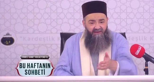Cübbeli Ahmet: Yakında cemaatlerin tümüne farklı hareketler çekilecek