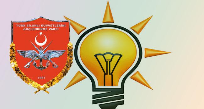 AKP şimdi gözünü Türk Silahlı Kuvvetlerini Güçlendirme Vakfı'na dikti