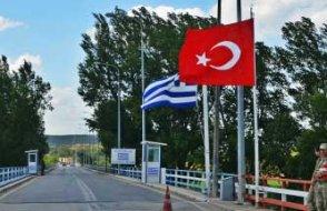 Yunan sınırını koşarak geçen kişi gözaltına alındı
