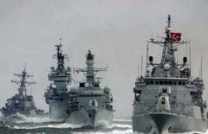 'Türk donanması İsrail gemisini Doğu Akdeniz'den çıkardı'