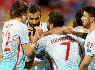 A Milli Futbol Takımı Kosova'yı 4 golle geçti