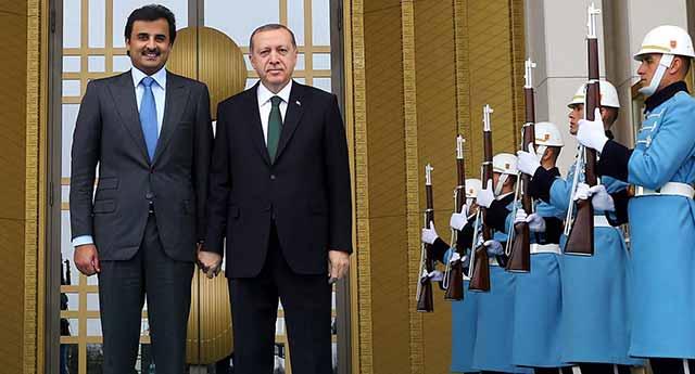 Havuz Medyasının 'ihanet'le suçladığı Katar emiri Türkiye'ye geliyor