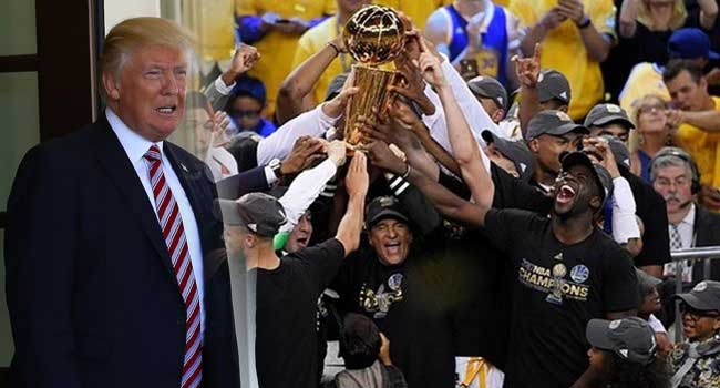 ABD Başkanı Trump'a bir red de NBA'den