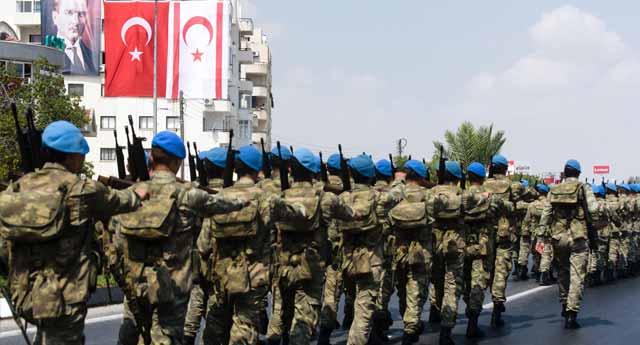 KKTC'de de askere operasyon