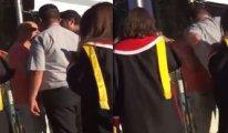 ODTÜ'de güvenlik görevlisi Deniz Baykal'ın oğluna kafa attı