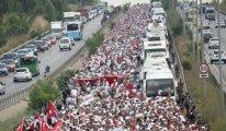 Flaş! Adalet Yürüyüşü'ne trafik molası