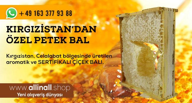 Kırgızistan'dan özel bal