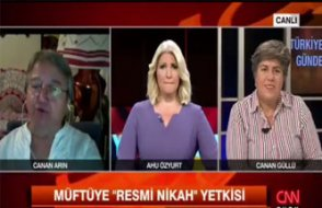 CNN Türk spikerinin 'şimdi yandık' bakışı