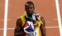 Usain Bolt'a kariyerinin son 100 metresinde büyük şok