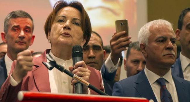 Akşener: Kılıçdaroğlu'nun tavrı her türlü takdirin üzerindedir