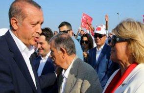 AKP Akşener'e karşı Tansu Çiller kartını çıkarttı....İstanbul mitingine Tansu Çiller de katıldı