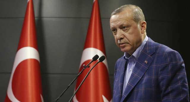 Erdoğan'dan mitingde büyük gaf