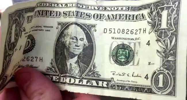 Bir Dolar paranoyasında son nokta