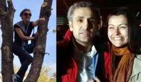 Nazife Kayacı tutuklu yarbay eşi için ağaca çıkmıştı
