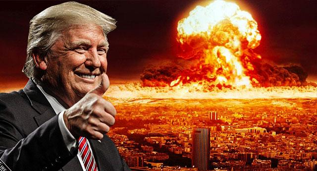 Trump nükleer silahları kullanmak isterse...