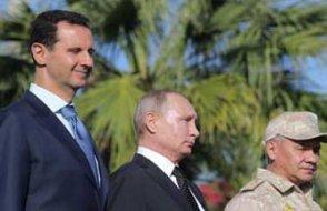 Putin, Türkiye ziyareti öncesi Suriye'de Beşşar Esad'la buluştu...