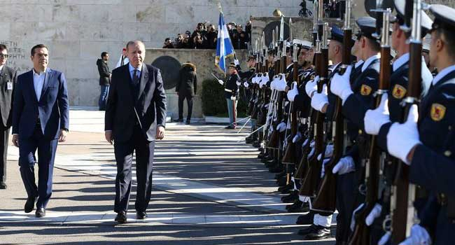 Yunanistan'dan  Erdoğan'a 'gavur' tepkisi