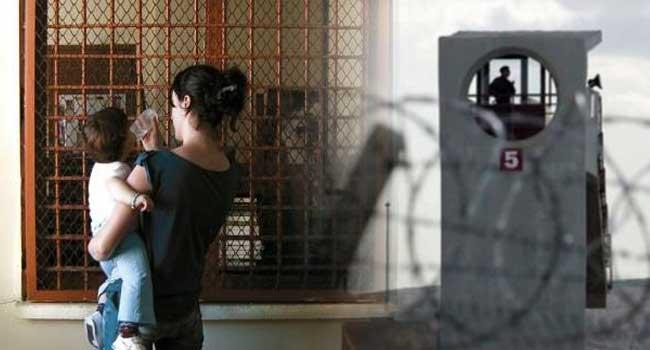İki aylık Akif bebekle birlikte cezaevindeki bebek sayısı 705 oldu