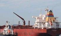 Ege'de Türkiye'den yüklenen patlayıcı yüklü gemi yakalandı