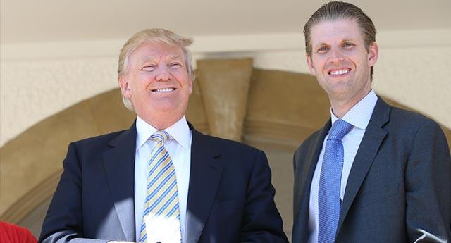 Trump'un oğlu: Babam ırkçı değil gördüğü tek renk dolar yeşilidir